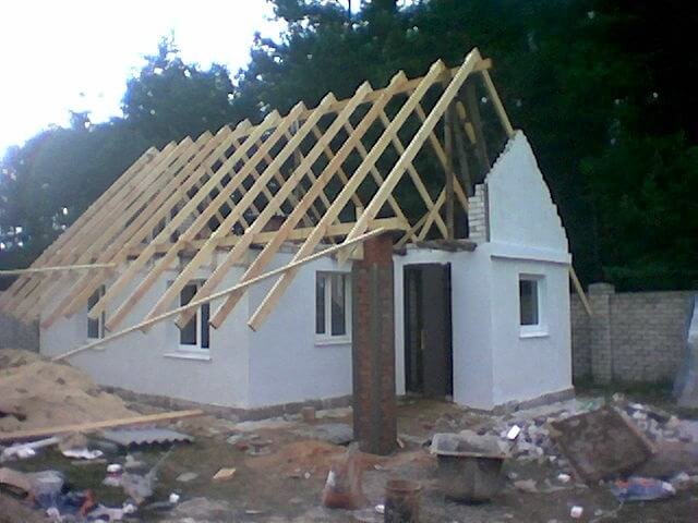 замена крыши гаража