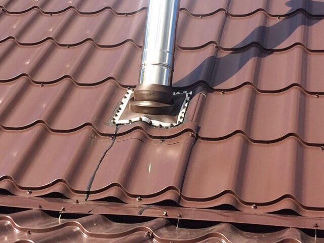 устранение течи крыши