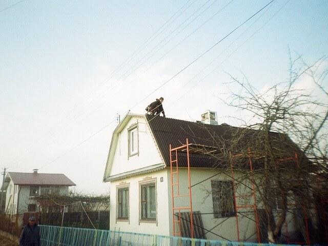 монтаж ондулина Минск