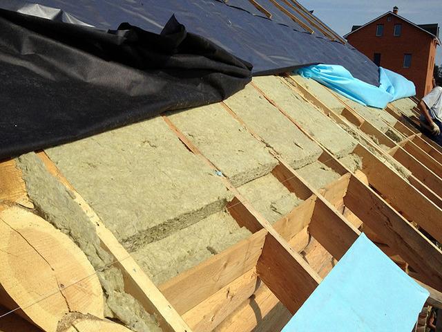 утепление крыши Миснк